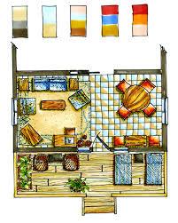 watercolor floorplan google search floorplan design