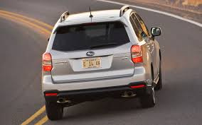 first subaru forester 2014 subaru forester xt rear view in motion photo 46381983