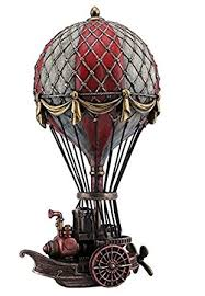9 75 steunk air balloon sculpture home decor