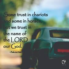 trust chariots horses trust