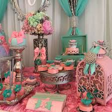 modern baby shower themes teal and pink modern chic baby shower baby shower ideas themes