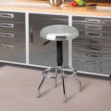 kitchen bossa counter height kitchen bar stool in black leather