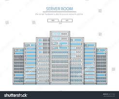 vector high tech internet data center stock vector 567171109