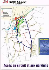 map of le mans le mans 24 hours 2001 racing sports cars