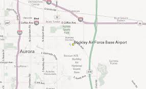 buckley afb map buckley air base airport weather station record historical