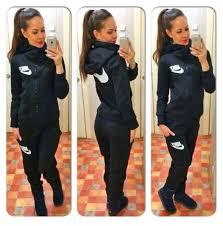 sweat suit jumpsuit jumpsuit nike suit black white nike wheretoget nike
