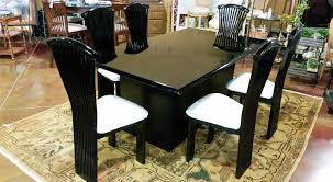 Italian Lacquer Dining Room Furniture Black Lacquer Dining Room Set Zhis Me