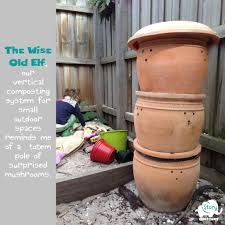 small outdoor spaces how we created a vertical composting system for our small outdoor