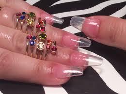 acrylic nails full set at home youtube