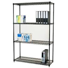 black wire shelving parrs workplace equipment experts