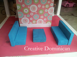 De Plan Barbie Doll Furniture by Diy Dollhouse Furniture Creative Dominican