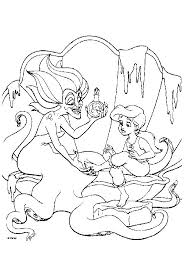 colouring pages ariel mermaid 71 mermaid 1 3