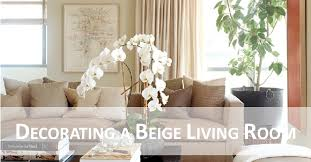 cup half full decorating a beige living room