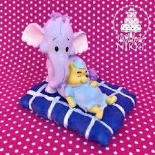 winnie pooh heffalump bed figurine licensed disney elephant