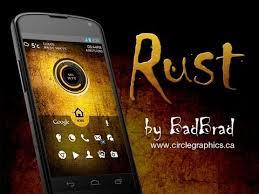 Theme Nova Launcher Android | rust theme using nova launcher for android youtube