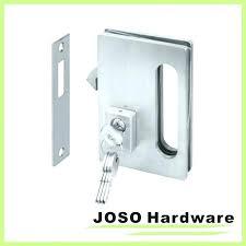 Patio Door Bolt Lock Sliding Patio Door Lock With Key Lovable Sliding Door Hardware