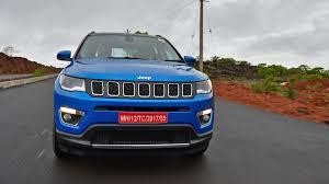 jeep compass limited blue jeep compass 2017 limited petrol at price mileage reviews