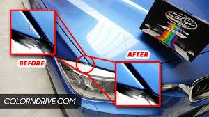 color n drive bmw 3 series estoril blue ii b45 car paint