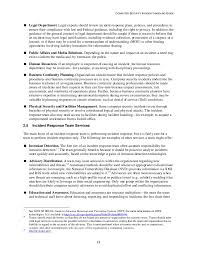 Computer Security Incident Report Template by Computer Security Incident Handling Guide Special Publication 800