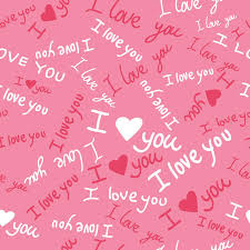 words wall murals quotes wall art wall stickers majestic i love you pattern wall mural