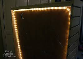 Costco Led Light Fixture Bookcase Ikea Floating Shelves With Lights Shaped Aluminum Led