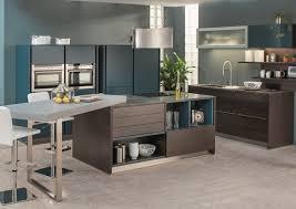 cuisine avec table ilot central cuisine avec table kirafes