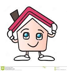 home roof cartoon royalty free stock photos image 10847818