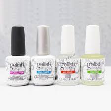 choose gelish harmony soak off gel nail polish base top coat ph