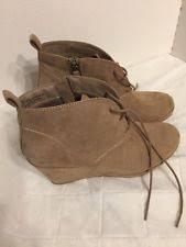 s ugg australia brown zea boots ugg australia zea waterproof lace up wedge ankle boot leather