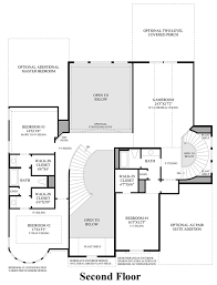Model Home Floor Plans Cinco Ranch Ironwood Estates The Sandhaven Home Design