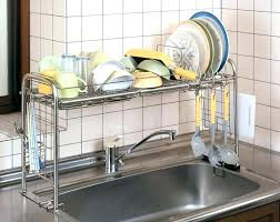 dish drainer for small side of sink small sink dish rack twin sink dish drainer small side sink dish