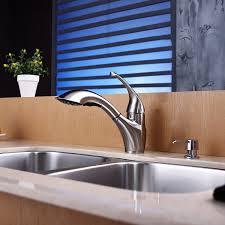 kraus ksd 30sn soap dispenser satin nickel in sink soap