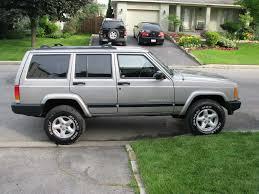 old jeep cherokee my box on wheels silver 00 u0027 xj jeep cherokee forum