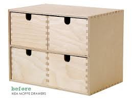 Ikea File Cabinet Hack The Painted Hive Ikea Card File Drawers Hack