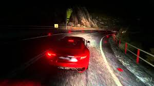 ferrari headlights at night driving by your headlights in driveclub youtube