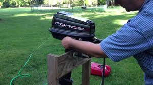 5hp mercury force outboard motor for sale youtube