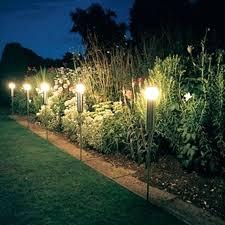 Outdoor Solar Landscape Lights Hton Bay Solar Led Landscape Lights Through To