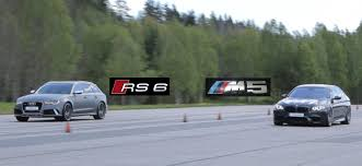 audi rs6 vs tuned audi rs6 vs tuned bmw m5 f10 bimmers of sweden official