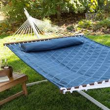 25 ide terbaik tentang double hammock with stand di pinterest