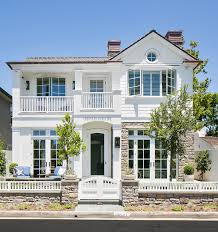 urban cottage with transitional coastal interiors home bunch