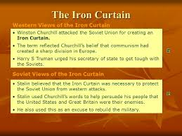Winston Churchill And The Iron Curtain What Events Ideas Led To Nato Iron Curtain Bullet List Of Events