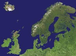 map northern europe scandinavia northern europe