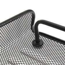 Black Wire Mesh Desk Accessories by 6 Pcs Of Set Metal Mesh Office Desktop Organizer File Tray Pencil