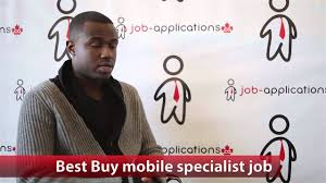 Best Buy Job App Best Buy Mobile Specialist Job Youtube
