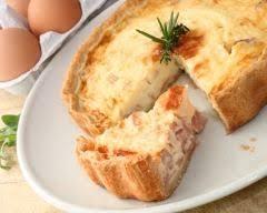 quiche cuisine az quiche lorraine à la crème recipe quiches casserole and dishes