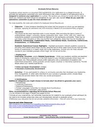 Resume Examples Masters Degree by Resume Objective For Graduate Resume For Your Job Application