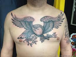 Rebel Flag Eagle Tattoo Bald Eagle Flag Chest Tattoo Quotes Women Design Idea For Men And