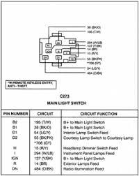 1996 dodge dakota headlight switch wiring diagram 1996 wiring