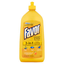 favor 3 in 1 citrus scent mop floor cleaner 27 fl oz