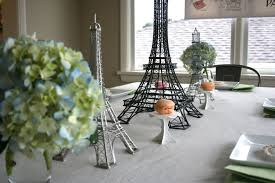 Paris Centerpieces 35 Eiffel Tower Table Decorations Ideas Table Decorating Ideas